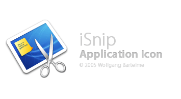 The new iSnip icon created by Bartelme Design
