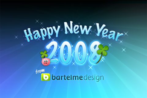 Happy New Year from Bartelme Design
