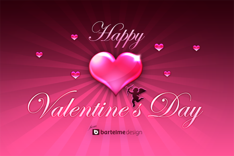 Valentines  Wallpaper on Bartelme Design     Valentine   S Day Devkit
