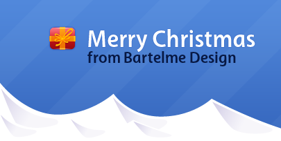 Merry Christmas from Bartelme Design