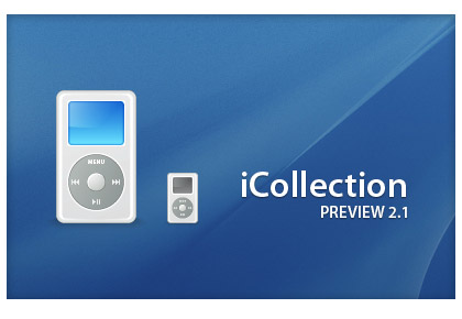Die iPod Icons ohne Anzeige am Display