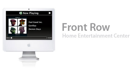 Front Row — the new home entertainment software form Apple