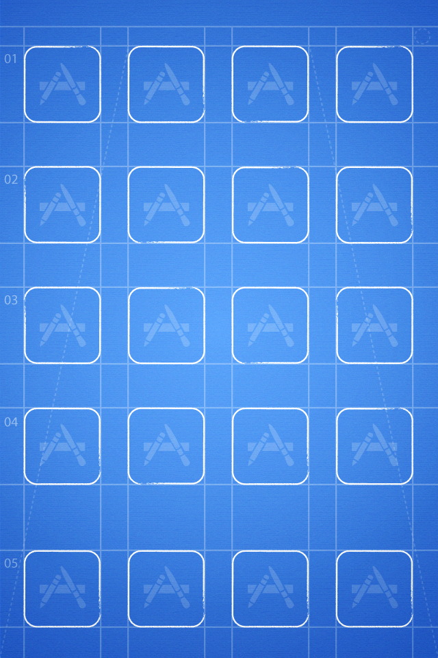 The grid iphone wallpapers for Wallpaper home iphone 4s