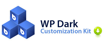 Download WP Dark Customization Kit