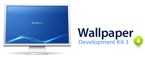 Download the thrid incarnation of Bartelme's Wallpaper Development Kit